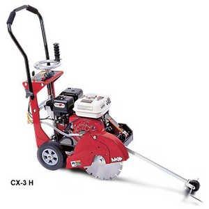 MK Diamond 159345 MK-CX-3 H 6-12 Horsepower 14-Inch Gas Walk-Behind Concrete Saw