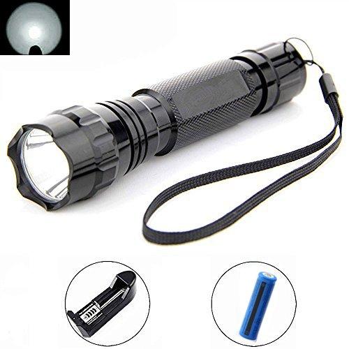 Mini Butterball 501B LED XML T6 1000 Lumen Handheld Flashlight 5 Mode Tactical Torch Water Resistant Lamp Led Flashlight for Riding Camping Hiking etc
