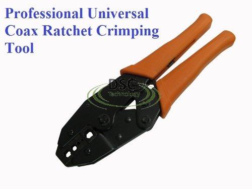 RG58  RG59  RG6 Crimp Tool for BNC  F-Pin Tools Tools