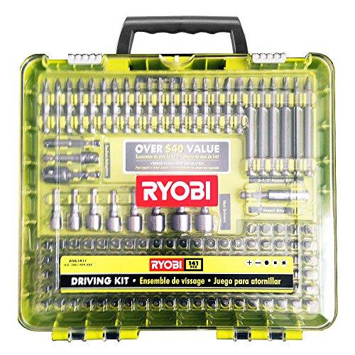 Ryobi Drill  Driver Set 141 Piece with Case