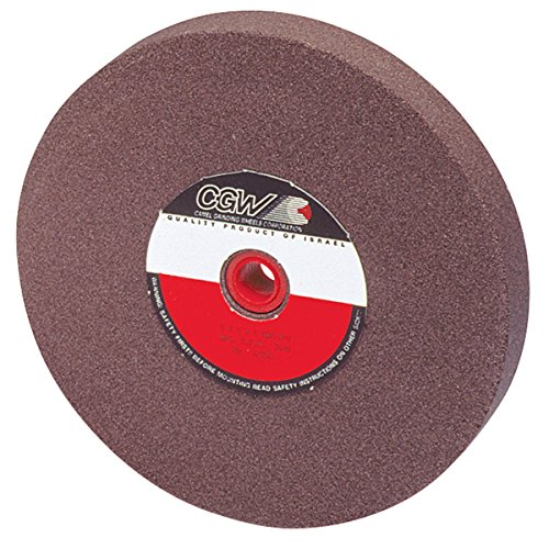 CGW-Camel 35049 Brown Aluminum Oxide Bench And Pedestal Grinding Wheel - Size 8X 1X 1