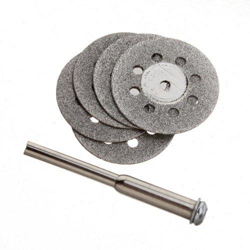22mm 5pcs Carbon Steel Mini Diamond Cutting Discs Tools