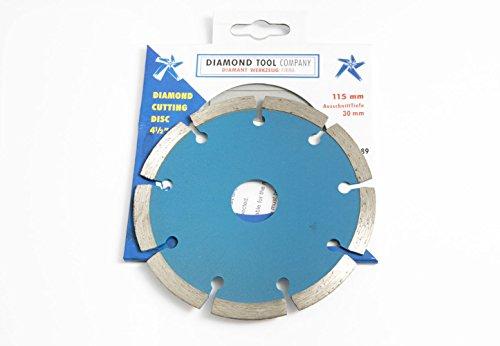 Diamond Cutting Disc 115mm 45 pulgadas Azulejos Ladrillo Mampostería Paquete De 4 Hojas