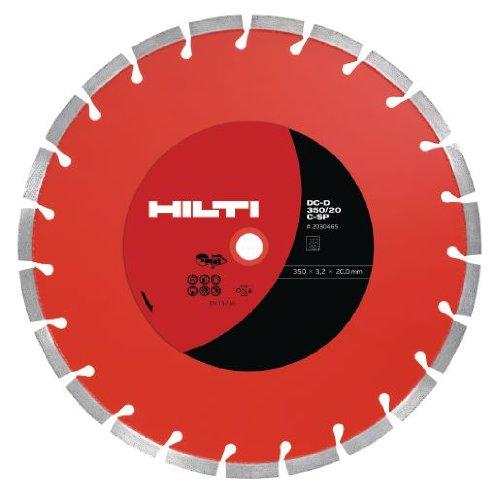 Hilti C-SP DC-D SP-S Equidis Segmented Super Premium Dry Diamond Cutting Disc - 16 Diameter - 2025202