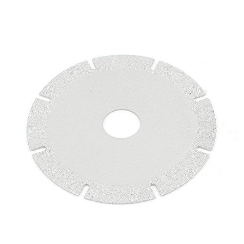 uxcell 100mm x 20mm Marble Brick Diamond Cutting Disc Wheel Silver Tone
