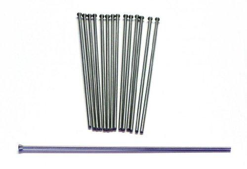 Heavy Duty 3mm x 7 inch Flat Tip Needle Scaler Gun Needle set of 23