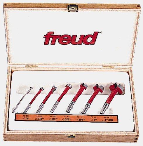 Freud FC-107 7-Piece Carbide Forstner Drill Bit Set Style 7-Piece Carbide Forstner Drill Bit Set Model FC-107