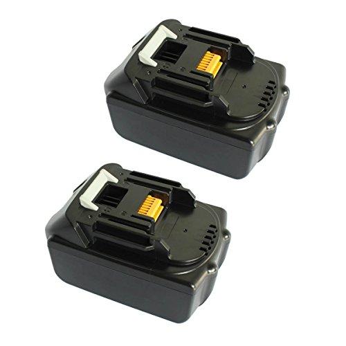 2Packs 18V 30Ah Lithium-ion Replacement Battery for Makita Cordless Drill 194205-3 BL1815 BL1835 LXT-400 BL1830GERIT BATT