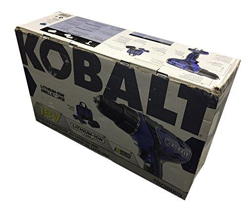 KOBALT 18V DRILLDRIVER LITHIUM-ION KIT 0239069 BOX