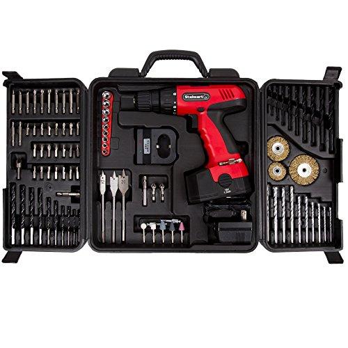 Stalwart 89-Piece 18V Cordless Drill Set