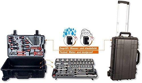 Projahn 4964-01 Tool Trolley 83 Items Waterproof and Dustproof by Projahn