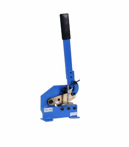5 Mounting Bench Type Manual Hand Plate Shear Slices Sheet Metal Rebar Round Stock Cutter