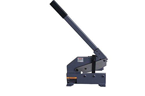 KAKA Industrial HSG-8 8-Inch Heavy-Duty Sheet Metal Plate Shear Cast-Iron Steel Frame Manual Hand Plate Shear