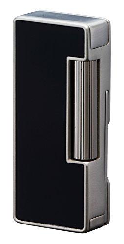 Sarome PSD37-02 Flint Pipe Lighter wpipe tools  Black Polished alumite