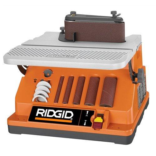 Ridgid ZREB4424 38 HP Oscillating Edge BeltSpindle Sander Certified Refurbished