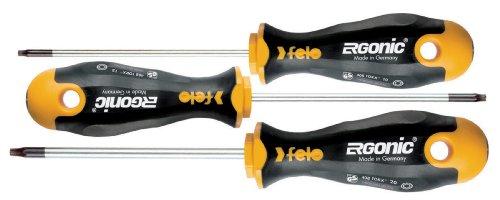 Felo 07157 53171 Ergonic Torx Screwdrivers Set of 3