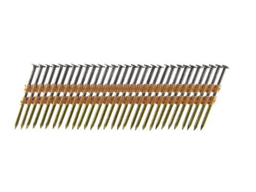 B&C Eagle A3X13122 Round Head 3-Inch x 131 x 22 Degree Bright Smooth Shank Plastic Collated Framing Nails 500 per box