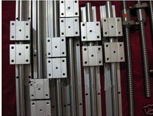 GOWE linear rail 3 SBR16 sets  3 ballscrews RM1605-30013501350mm type