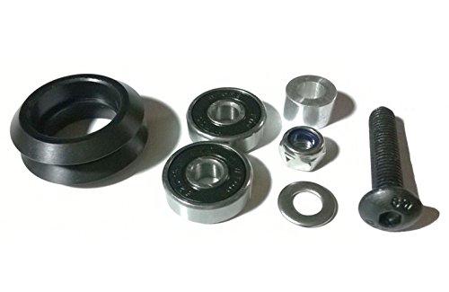 LOT 10 Dual Bearing Delrin V Wheel Kit CNC XCarve V-Slot Linear Rail 3D Printer