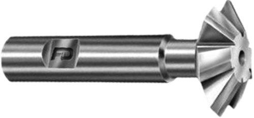 F&D Tool Company 10335 Corner Rounding Endmills Carbide Tipped for Non-Ferrous and Cast Iron 14 Circle Radius 1 Tool Diameter 34 Shank Diameter