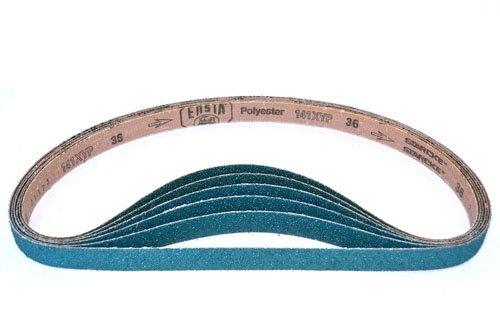 1 X 30 Inch Sanding Belts Zirconia Cloth Narrow Sander Belts 24 Pack 50 Grit