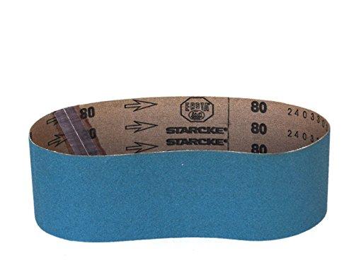 Sanding Belts 3 X 18 Zirconia Cloth Sander Belts 8 Pack 50 Grit