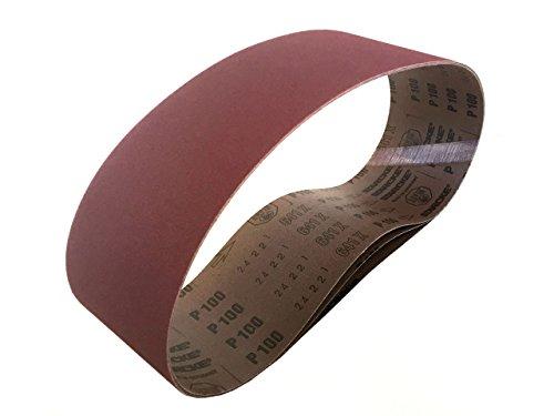 Sanding Belts 4 X 36 Aluminum Oxide Cloth Sander Belts 6 Pack 400 Grit