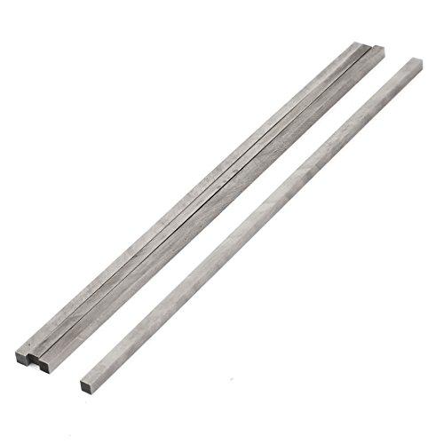 uxcell CNC Lathe HSS Square Cutting Tool Bit Bar 4mmx4mmx200mm 4 Pieces