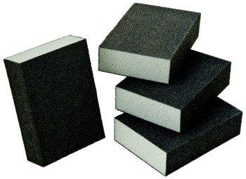 Abrasive Sponge Block Aluminum Oxide Foam 80 Grit