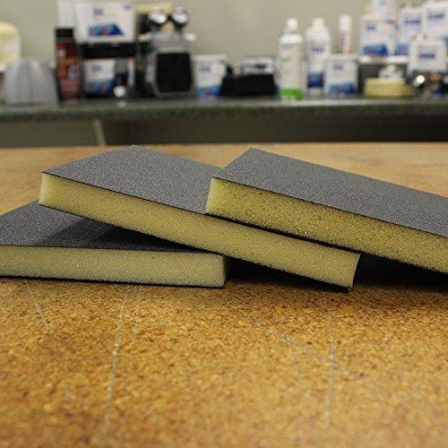 Fibre Glast Sanding Sponges - 100 Grit Double Sided Abrasive Sponge
