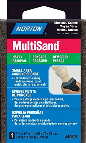 NORTON ABRASIVESST GOBAIN 49503 MEDCoar Sand Sponge