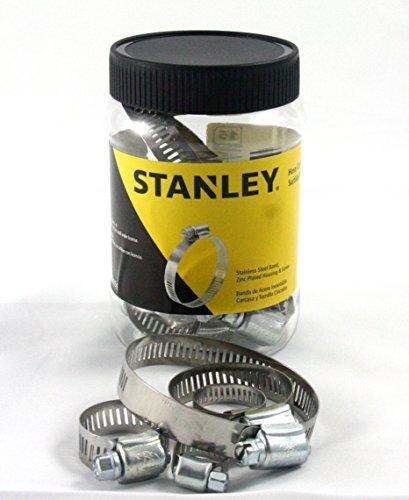 Stanley Hose Clamp Assortment Jar Kit 15 Pieces CJ-HC15S Model CJ-HC15-S Car Vehicle Accessories  Parts