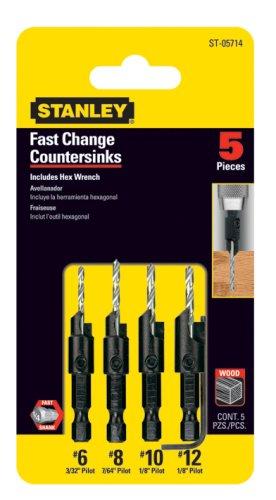 4PC Countersink Bit Set