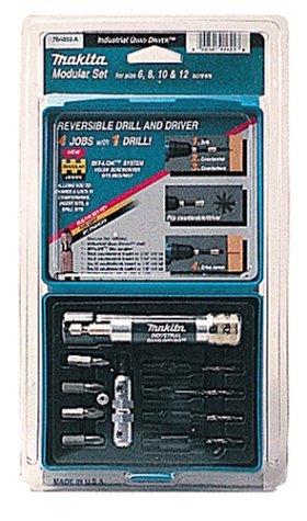 Makita 784859-A Quad-Driver 11 Piece Pre-Drill Drive and Countersink Set