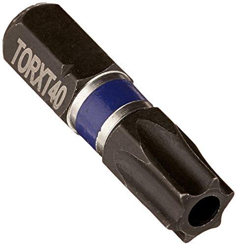 Irwin Tools 1837431 Impact Performance Series Tamper-Resistant TORX T40-TR Insert Bit