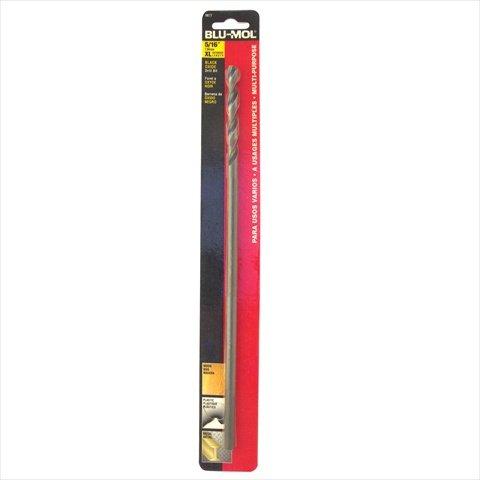 Disston 6677 Blu-Mol 031 In Diameter X 12 In L Black Oxide Extra Length Drill Bit