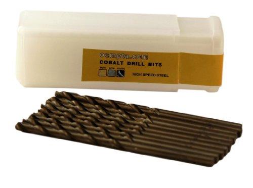 964-Inch Cobalt Twist Drill Bit Split Point 10 Pack