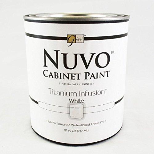 Nuvo Cabinet Paint Titanium Infusion Quart