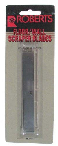 Roberts Carpet Tools 4-Inch Floor and Wall Scraper Replacement Blades 10-442