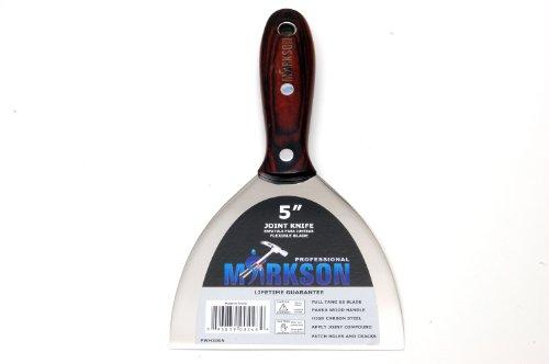 Brazilian Pakka Proffesional Wooden Handle Stainless Steel Putty Knife 5 Ultra Flex Scraper Joint Knife