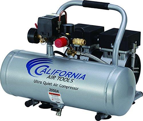 California Air Tools 2050A Ultra Quiet and Oil-Free 12 HP 20 -Gallon Aluminum Tank Air Compressor