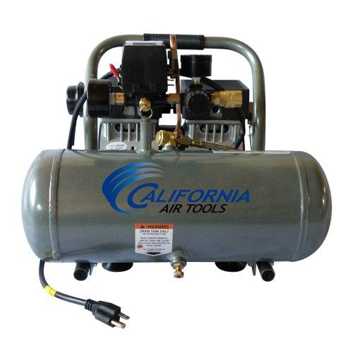 California Air Tools CAT-1610A Ultra Quiet and Oil-Free 10 Hp 16-Gallon Aluminum Tank Air Compressor