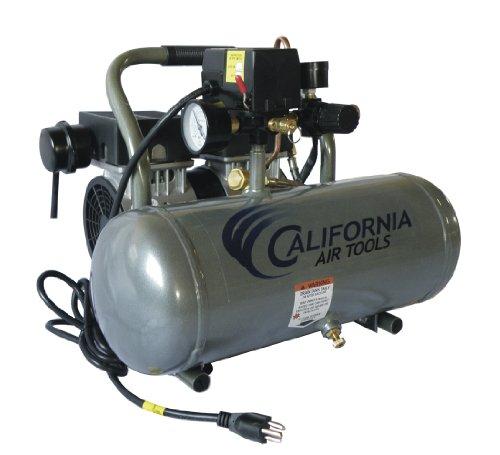 California Air Tools CAT-1650A Ultra Quiet and Oil-Free 12 Hp 16-Gallon Aluminum Tank Air Compressor