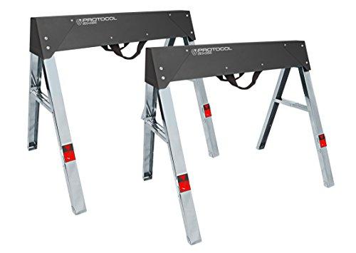 PROTOCOL Equipment SH-034 Steel Sawhorse Set of 2