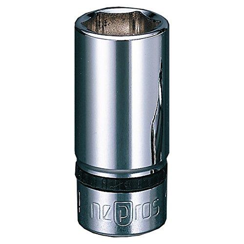 Nepros 15mm 38sq Semi-Deep Socket Wrench 6pt