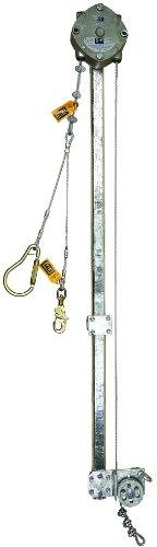 3M DBI-SALA SSB Climb Assist 3511063 Vertical System with SSB Climb Assist and Fall Arrest Block Pulley Assembly Silver