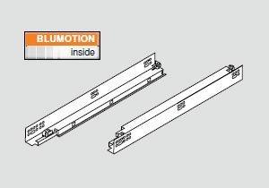 Tandem Plus Blumotion 563F Drawer Runner For Face Frame 15 Drawer