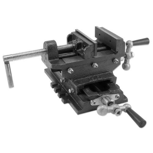 6 2 Way Cross Slide Drill Press Vise Metal Milling Machine Holding Clamp