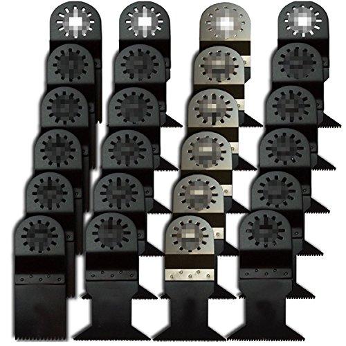 ZFE Pro Grade Universal Blade For Bosch Fein Dremel Makita Multimaster Multifunction Tools Pack Of 24Pcs