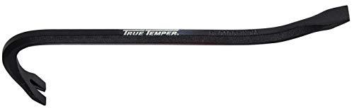 True Temper 24 x 34 Tempered Steel Gooseneck Wrecking Bar Black - 1170500- Pack of 2